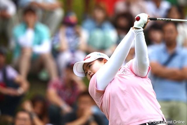 先週から2連覇達成、来週は女子プロゴルフ選手権で3連覇も・・・