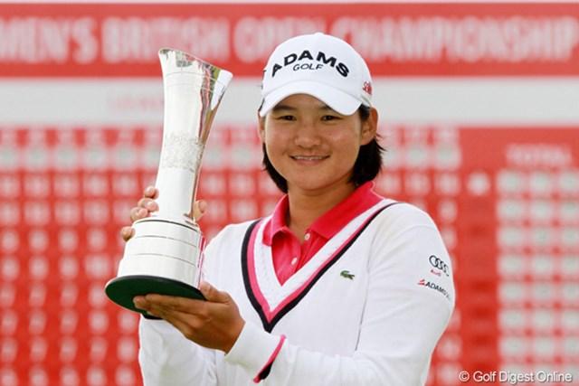 2012年 全英リコー女子オープン 事前情報 ヤニ・ツェン 昨年はヤニ・ツェンが貫禄の連覇達成。今年は3連覇への挑戦となる