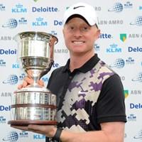 逆転で大会3勝目を手にしたサイモン・ダイソンがディフェンディングチャンピオンとして登場(Stuart Franklin /Getty Images) 2012年 KLMオープン 事前情報 サイモン・ダイソン