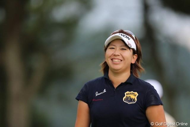 2012年 日本女子プロゴルフ選手権大会コニカミノルタ杯 初日 吉田弓美子 会心のプレーで2位に4打差の単独首位!絶好のスタートを切った吉田弓美子