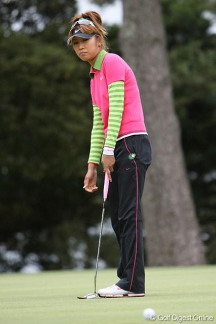 金田久美子 遅延プレーによる1ペナに悔い… 67位タイと出遅れた金田久美子