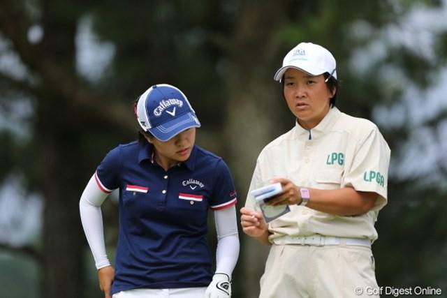 2012年 日本女子プロゴルフ選手権大会コニカミノルタ杯 初日 サイ・ペイイン おい!自分で予習してこいよ!もう見せてやんねーぞ。