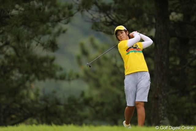 2012年 日本女子プロゴルフ選手権大会コニカミノルタ杯 初日 橋本香菜 幼稚園っぽいのはなぜ?