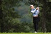 2012年 日本女子プロゴルフ選手権大会コニカミノルタ杯 初日 竹村真琴