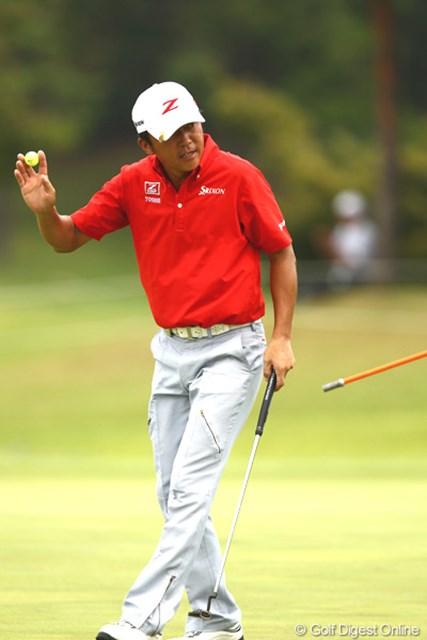 2012年 TOSHIN GOLF TOURNAMENT IN 涼仙 初日 広田悟 ホストプロとして5位タイの好スタートをきった広田悟