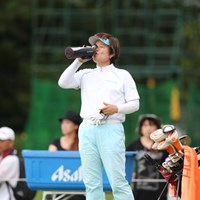 のまなきゃやってられないわよ。 2012年 日本女子プロゴルフ選手権大会コニカミノルタ杯 2日目  コウ・ウスン