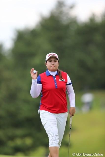 2012年 日本女子プロゴルフ選手権大会コニカミノルタ杯 2日目  パク・インビ キング・オブ・ポーカーフェイス…ってキングじゃねーし。