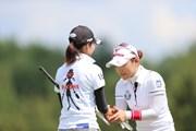 2012年 日本女子プロゴルフ選手権大会コニカミノルタ杯 2日目 有村智恵