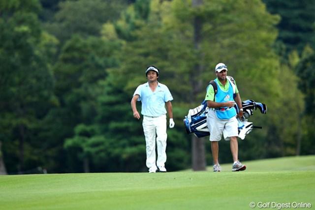 2012年 TOSHIN GOLF TOURNAMENT IN 涼仙 2日目  横田真一  11アンダー7位タイ、まだ2日ありますよ~