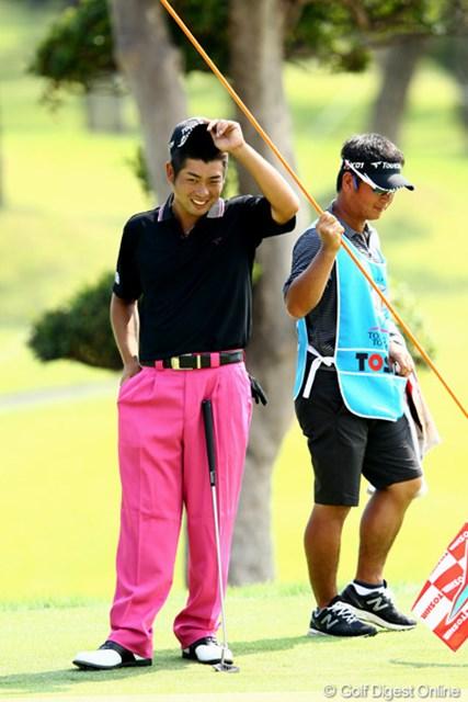 2012年 TOSHIN GOLF TOURNAMENT IN 涼仙 2日目  池田勇太   今日はノーボギー、暑さにも負けないゴルフ