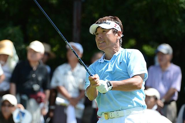 「優勝争いを意識しなければ、楽しいゴルフができると思う」と尾崎。明日の最終日は今季2勝目に挑む