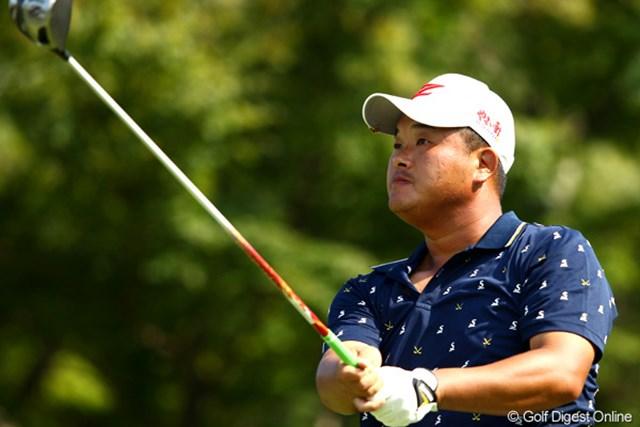 2012年 TOSHIN GOLF TOURNAMENT IN 涼仙 2日目 小田孔明 耐えるゴルフになったという小田孔明も首位と3打差単独6位で決勝ラウンドへ