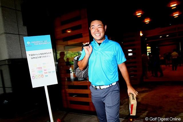2012年 TOSHIN GOLF TOURNAMENT IN 涼仙 3日目 薗田峻輔 今大会のホストプロも引揚げ