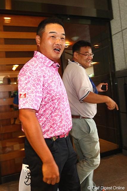 2012年 TOSHIN GOLF TOURNAMENT IN 涼仙 3日目 小田孔明 このあとの予定は・・・練習場ですか?
