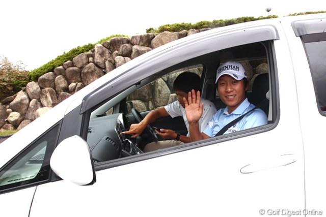 2012年 TOSHIN GOLF TOURNAMENT IN 涼仙 3日目 キム・キョンテ 米ツアー進出に向けても2週連続優勝を狙いたいというキム・キョンテ