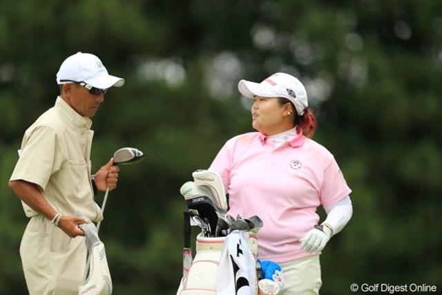 2012年 日本女子プロゴルフ選手権大会コニカミノルタ杯 3日目 アン・ソンジュ 今週は私の週じゃないんだって。