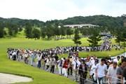 2012年 日本女子プロゴルフ選手権大会コニカミノルタ杯 3日目 ギャラリー