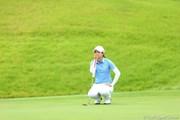 2012年 日本女子プロゴルフ選手権大会コニカミノルタ杯 3日目 大江香織
