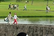 2012年 日本女子プロゴルフ選手権大会コニカミノルタ杯 3日目 有村智恵