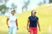 2012年 日本女子プロゴルフ選手権大会コニカミノルタ杯 最終日 下村真由美 吉田弓美子