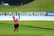2012年 日本女子プロゴルフ選手権大会コニカミノルタ杯 最終日 有村智恵