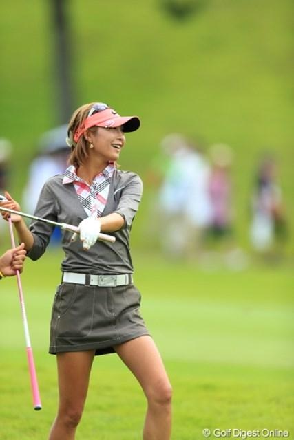 2012年 日本女子プロゴルフ選手権大会コニカミノルタ杯 最終日 金田久美子 55位から決勝ラウンド2日間で4位タイに浮上。好調の波に乗った金田久美子