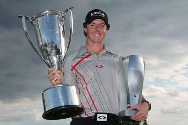 先週に続き、プレーオフシリーズ2連勝を果たしたR.マキロイ (Warren Little /Getty Images)
