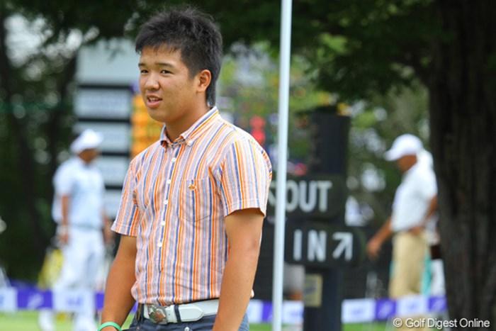 ひとまわり体の大きくなったアマチュア伊藤誠道が今年もANAオープン参 2012年 ANAオープンゴルフトーナメント 事前 伊藤誠道