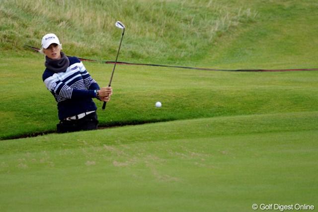2012年 全英リコー女子オープン 事前情報 メリッサ・リード 今年事故で母親を亡くし、その1ヵ月後に出場した欧州女子ツアーの試合で優勝した