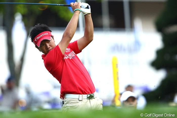 今年も「ANAオープン」の主役の一人になりそうな伊藤誠道。首位と3打差でスタート。 2012年 ANAオープンゴルフトーナメント 初日 伊藤誠道