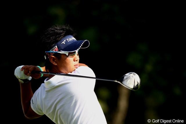 2012年 ANAオープンゴルフトーナメント 2日目 伊藤誠道 中盤までは出入りのある展開も、終盤に見せ場を作った17歳の伊藤誠道。
