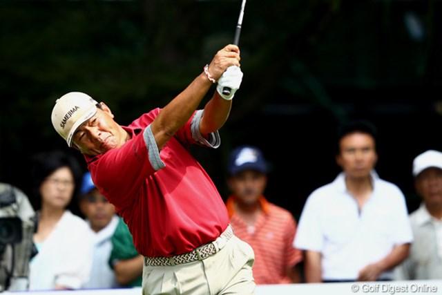 2012年 ANAオープンゴルフトーナメント 3日目 室田淳 昨年はアマチュアの16歳(当時)、伊藤誠道が大活躍…今年は57歳が?