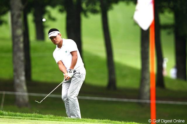 2012年 ANAオープンゴルフトーナメント 3日目 宮里優作 上井同様、宮里優作にも初優勝のチャンス。最終日はビッグスコアが必要か。