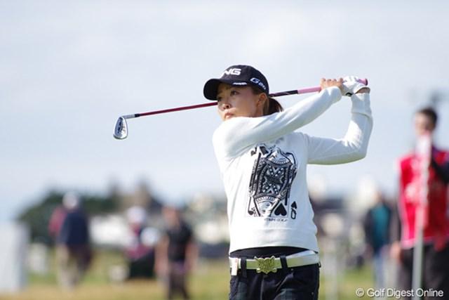 2012年 全英リコー女子オープン 3日目 一ノ瀬優希 海外メジャー初出場ながら、11位タイで堂々の予選突破を果たした一ノ瀬優希