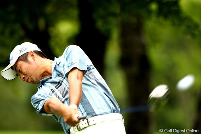 2012年 ANAオープンゴルフトーナメント 最終日 池田勇太 優勝争いに絡む若大将のティショット