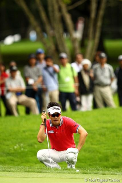 2012年 ANAオープンゴルフトーナメント 最終日 キム・ヒョンソン なかなかカッコいいですよね