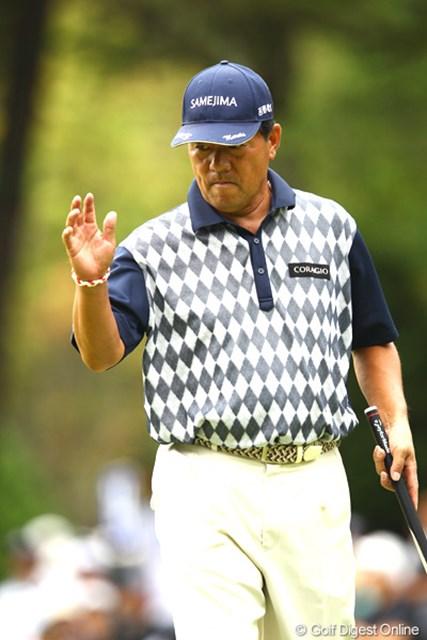 2012年 ANAオープンゴルフトーナメント 最終日 室田淳 シニアプロが6位タイフィニッシュ。お疲れ様でした