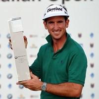 落胆を乗り越えて、今季初勝利を手にしたG.フェルナンデスカスタノ (Stuart Franklin /Getty Images) 2012年 BMWイタリアオープン 最終日 ゴンサロ・フェルナンデスカスタノ
