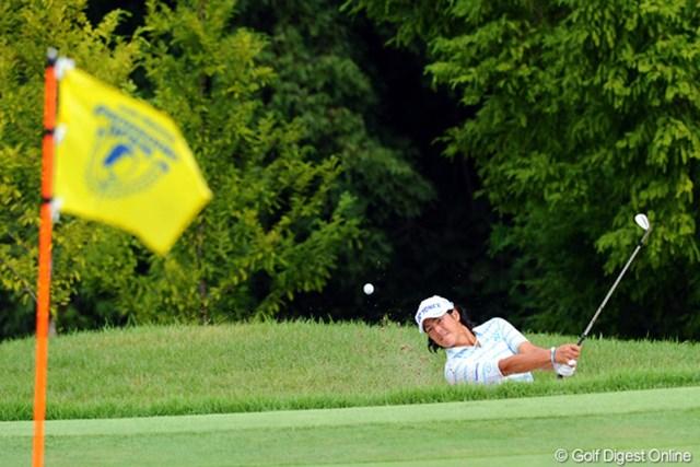 2012年 アジアパシフィックオープンゴルフチャンピオンシップ パナソニックオープン 初日 石川遼 アイアンショットのブレから、スコアを伸ばせずイーブンパーとなった石川遼
