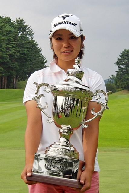 今年プロテストに合格したばかりの比嘉真美子がプロ初優勝!(画像提供:日本女子プロゴルフ協会)
