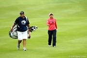 2012年 ミヤギテレビ杯ダンロップ女子オープンゴルフトーナメント 初日 横峯さくら