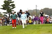 2012年 ミヤギテレビ杯ダンロップ女子オープンゴルフトーナメント 2日目 イ・ボミ アン・ソンジュ 全美貞