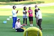 2012年 ミヤギテレビ杯ダンロップ女子オープンゴルフトーナメント 2日目 横峯さくら 森田理香子