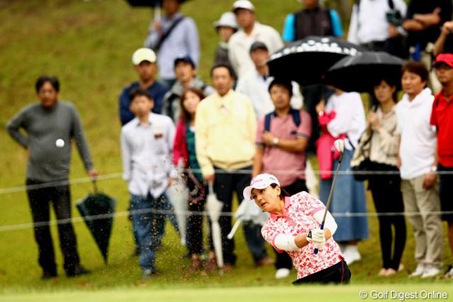 茂木宏美/ミヤギテレビ杯ダンロップ女子オープン最終日 16番ここから痛恨のボギーに・・・