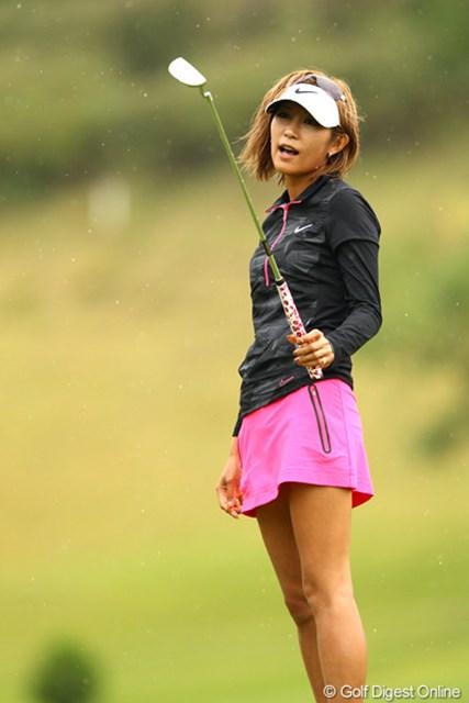 金田久美子/ミヤギテレビ杯ダンロップ女子オープン最終日 18番バーディで締められなかったけど、67ストロークで6アンダー8位タイまで 順位をあげてきた