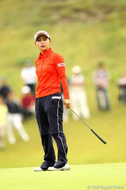 横峯さくら/ミヤギテレビ杯ダンロップ女子オープン最終日 なかなかスコアが伸びずに苦しいゴルフ、4アンダー15位タイ