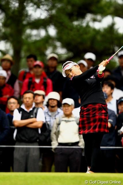 有村智恵/ミヤギテレビ杯ダンロップ女子オープン最終日 やっぱりやるね!5つスコアを伸ばし10アンダー4位。惜しかったね