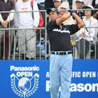 裏街道スタートで、前半4つスコアを伸ばして意地を見せました。綾田紘子プロがギャラリーに混じって応援してはりました。26位T 2012年 アジアパシフィックオープンゴルフチャンピオンシップ パナソニックオープン 最終日 池田勇太