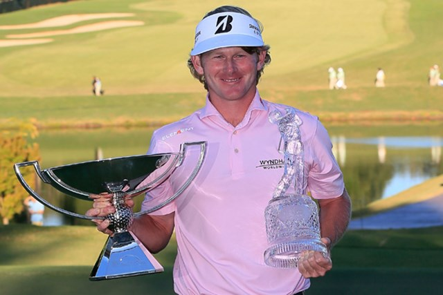 B.スネデカーが最終戦初制覇、そしてFedExカップ王者戴冠とダブルの栄誉を手に!(Sam Greenwood/Getty Images)