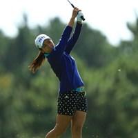 日に日に芝が伸び、難度が増しているラフに警戒を示す宮里藍 2012年 日本女子オープンゴルフ選手権競技  事前 宮里藍
